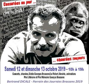 Chorale LES COPAINS D ACCORDS de PESSAC au 32ième journées BRASSENS à PARIS